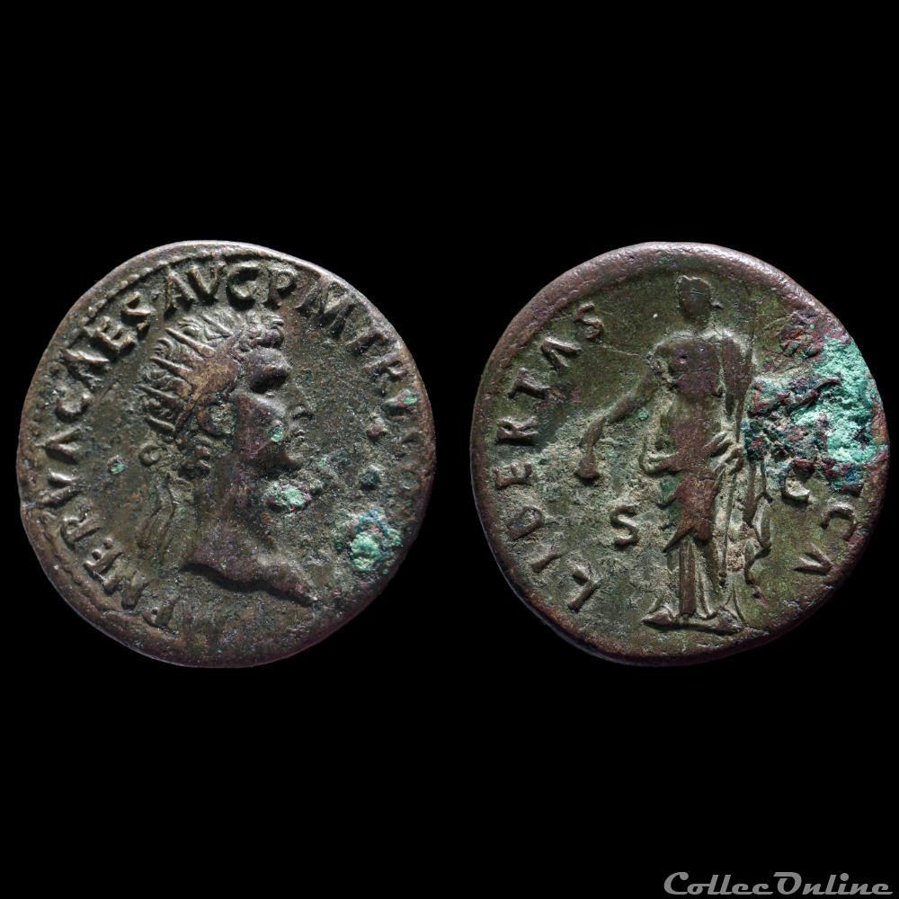 monnaie antique romaine nerva dupondius