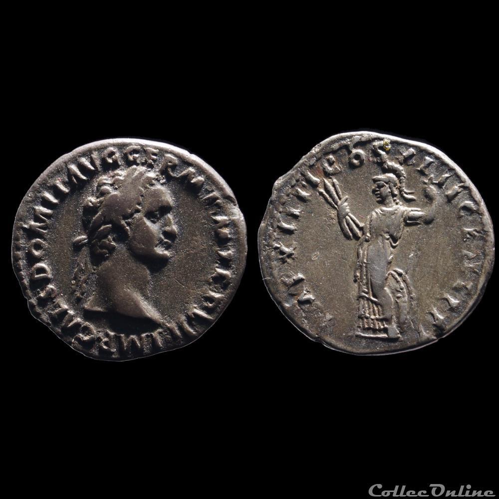 monnaie antique romaine domitien denier