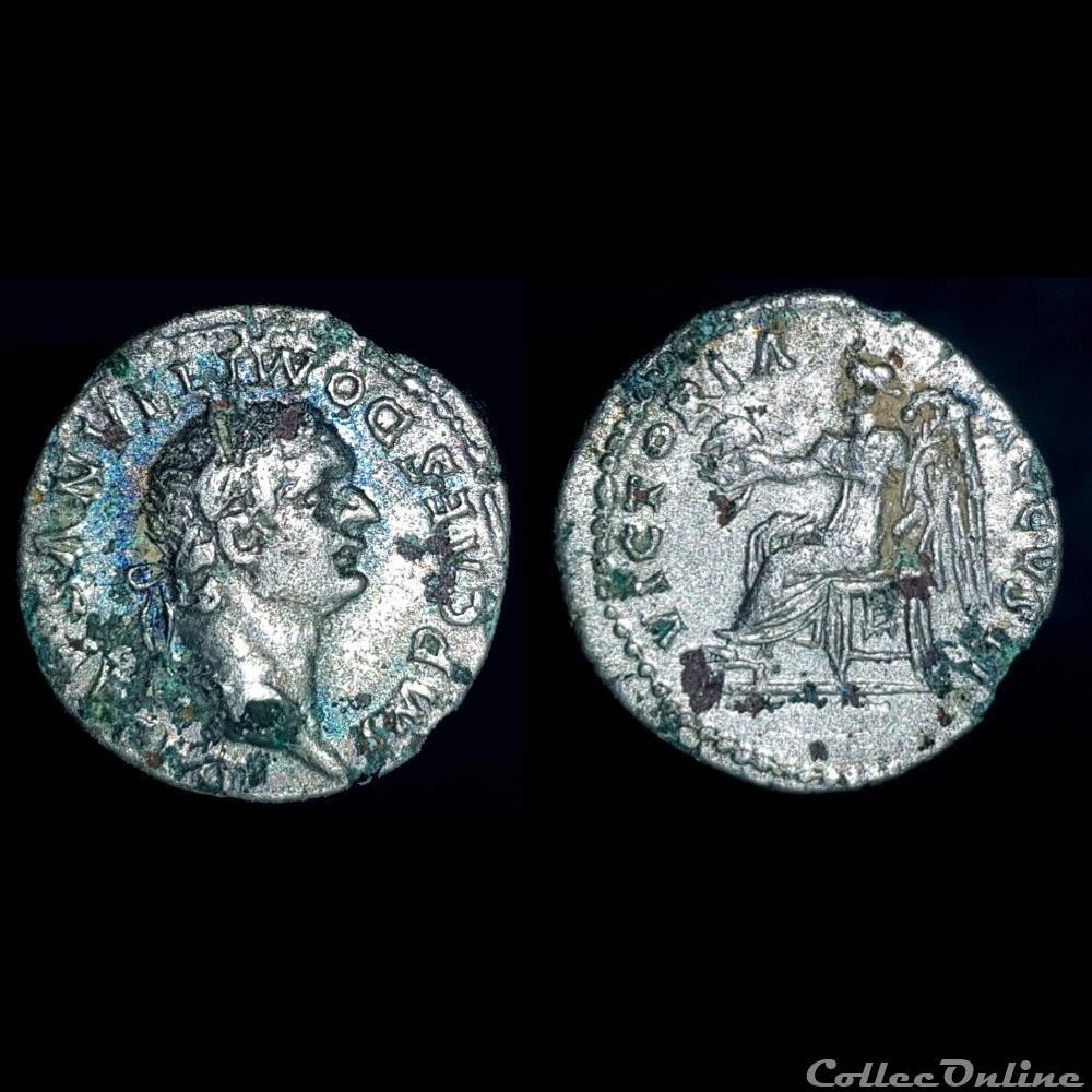 monnaie antique romaine domitien quinaire