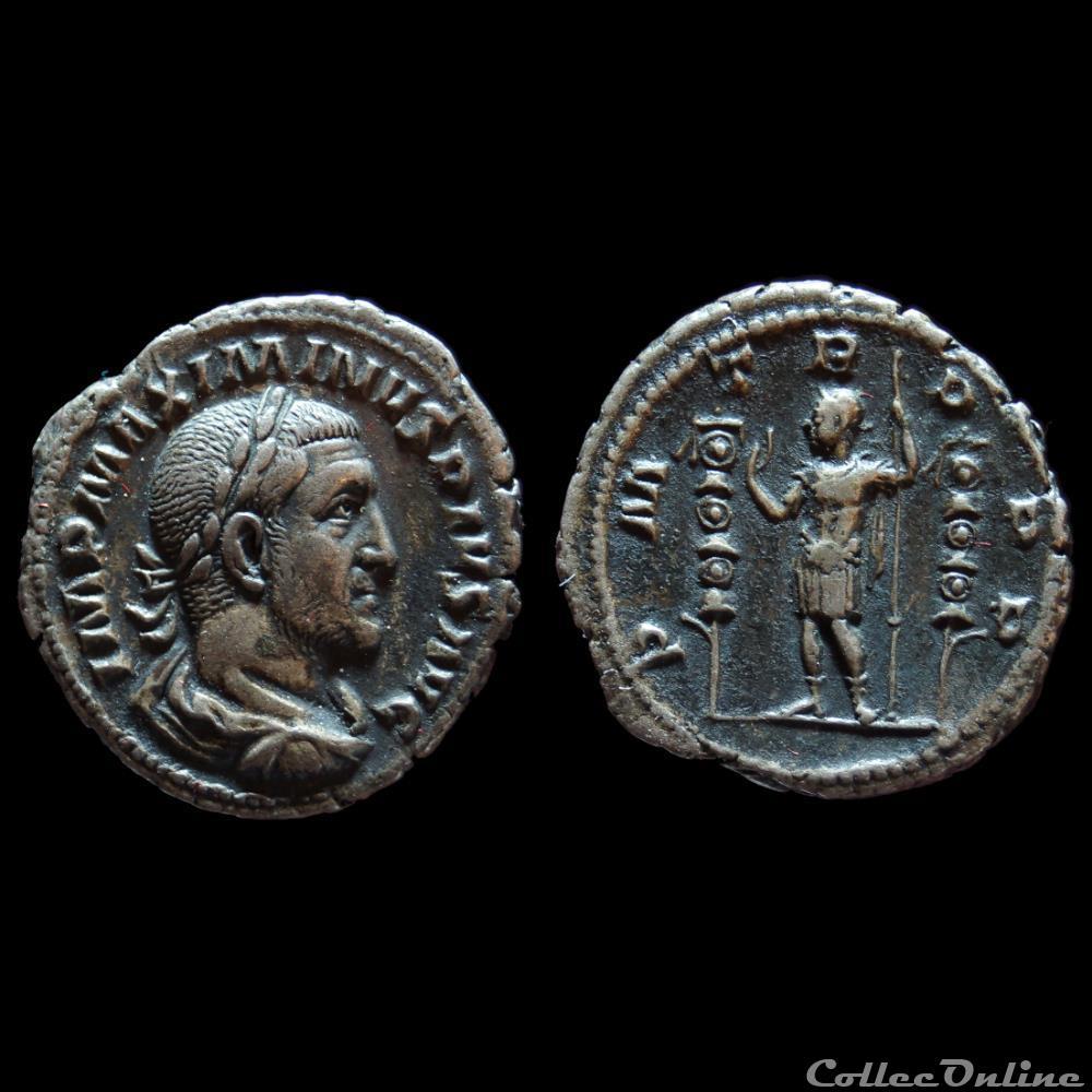 monnaie antique romaine maximin ier thrace denier