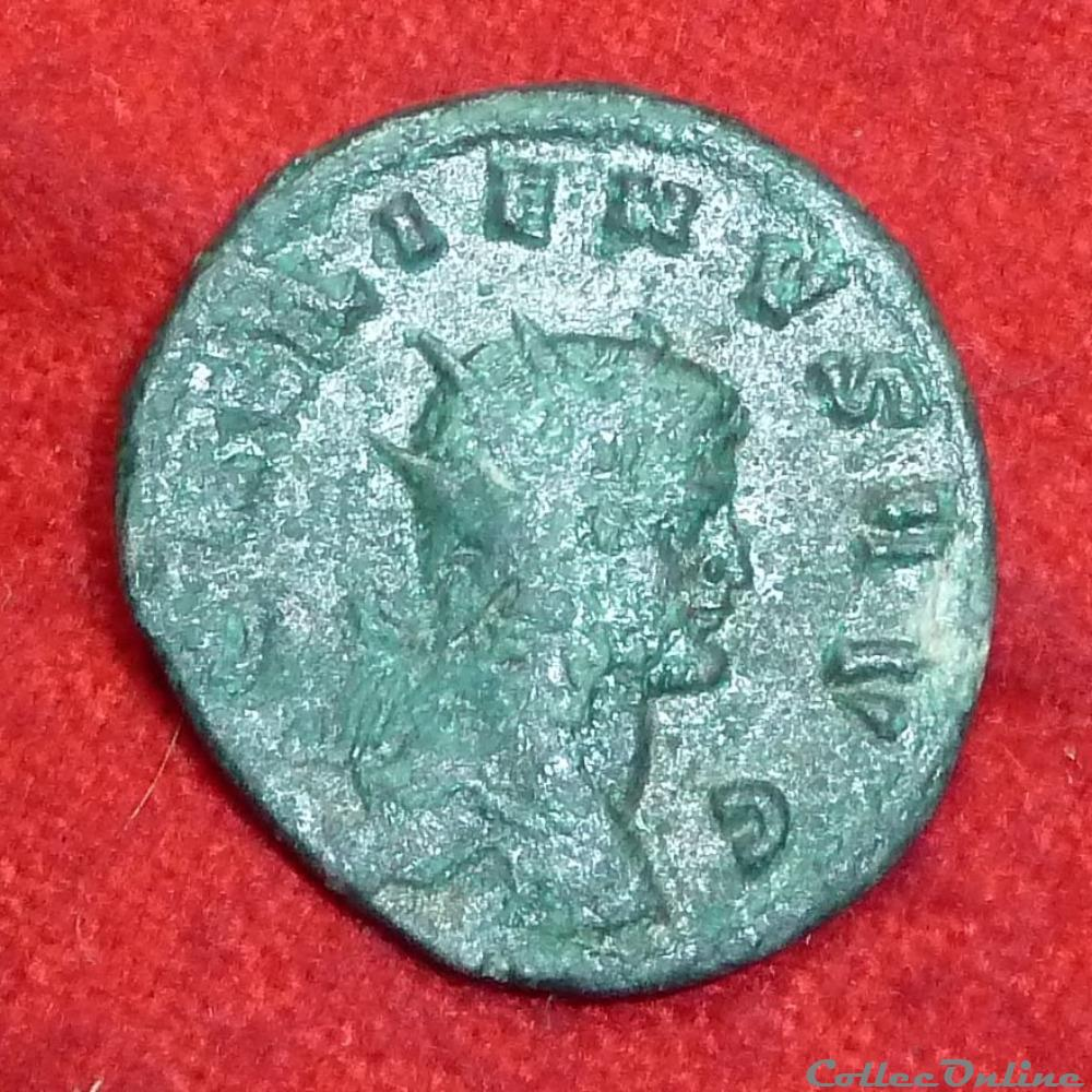 monnaie antique av jc ap romaine gallien antoninien la victoire