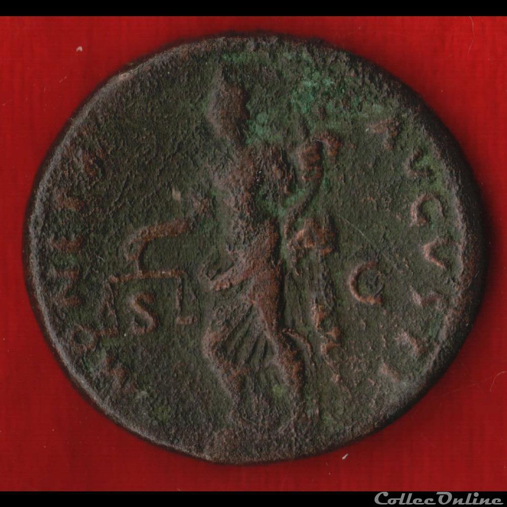 antique av jc ap romaine domitien as la monnaie