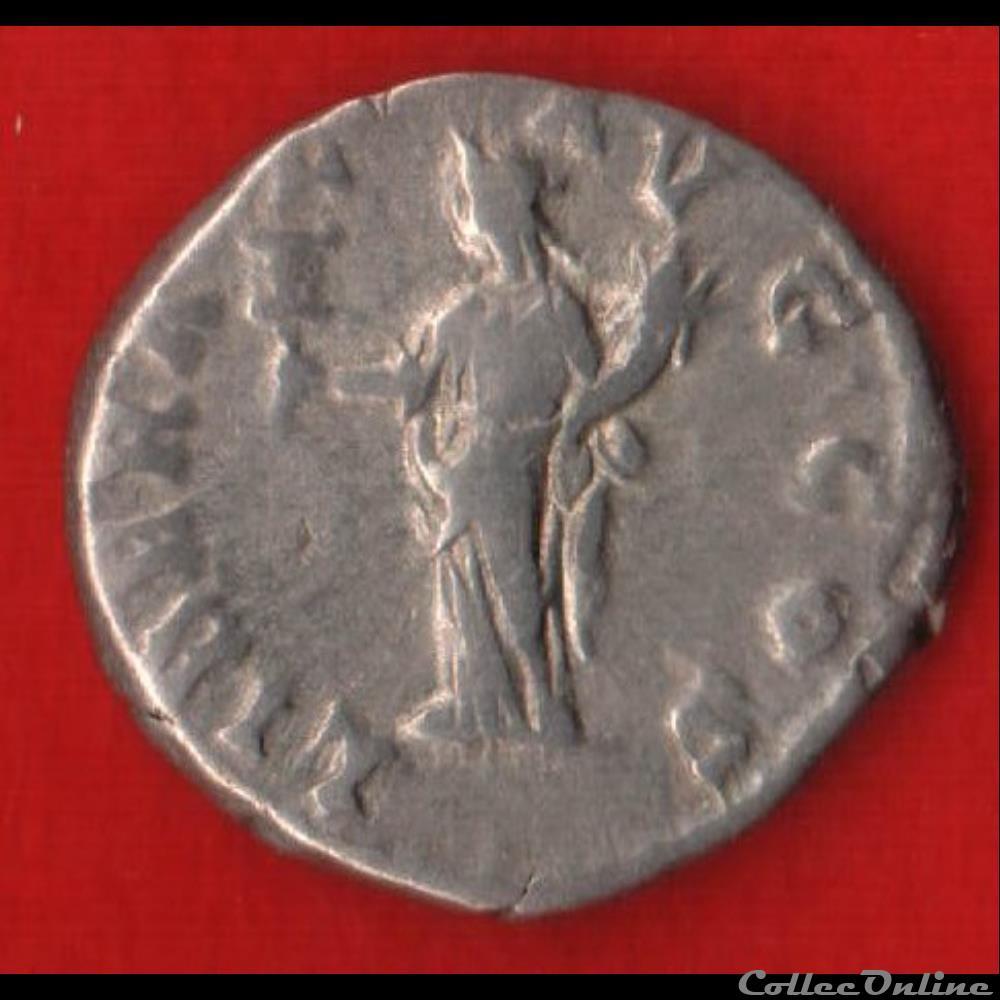 monnaie antique romaine denier de septime severe la liberalite