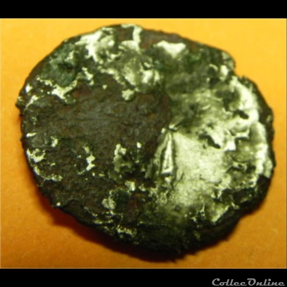 monnaie antique romaine julia domna augusta fourree