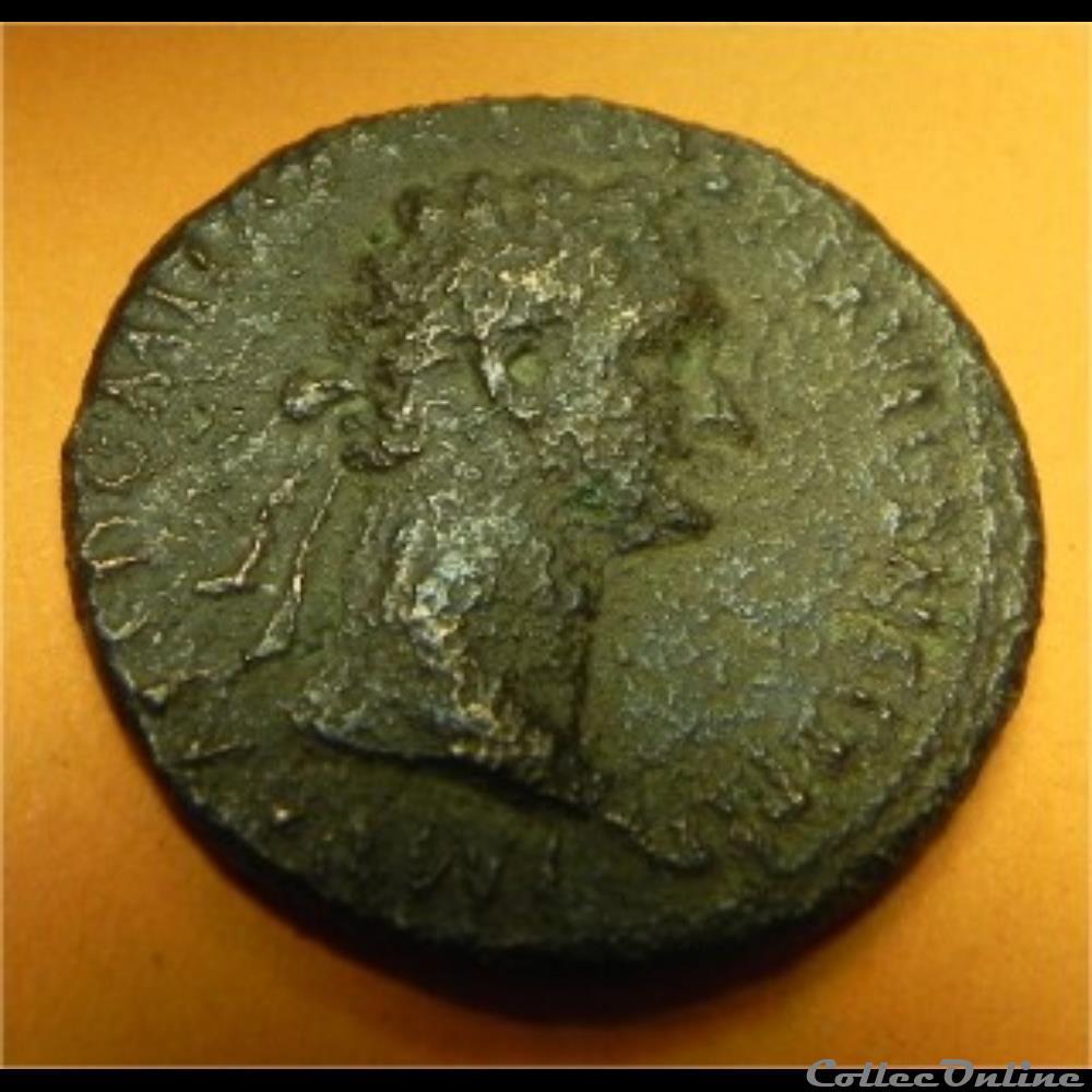 monnaie antique romaine domitien fortunea