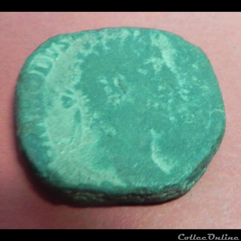 monnaie antique romaine commode