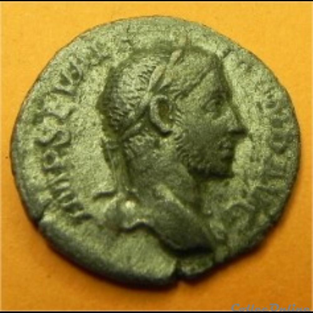 monnaie antique romaine alexandre severe vir t v s avg