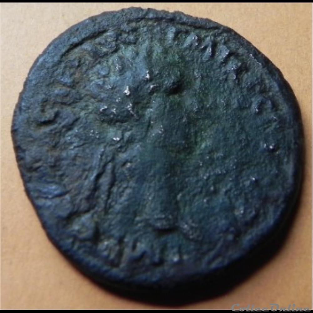 monnaie antique romaine nerva fortuna dupondius