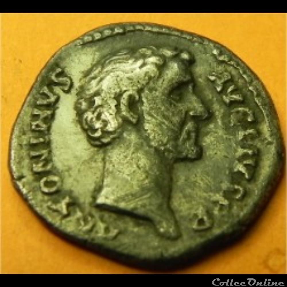monnaie antique romaine denier antonin le pieux tr pot cos ii