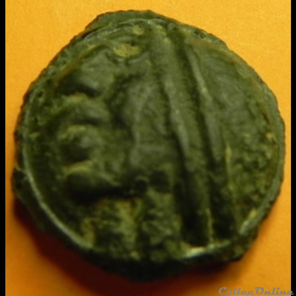 monnaie antique av jc ap gauloise serie 854 dt potin au bandeau