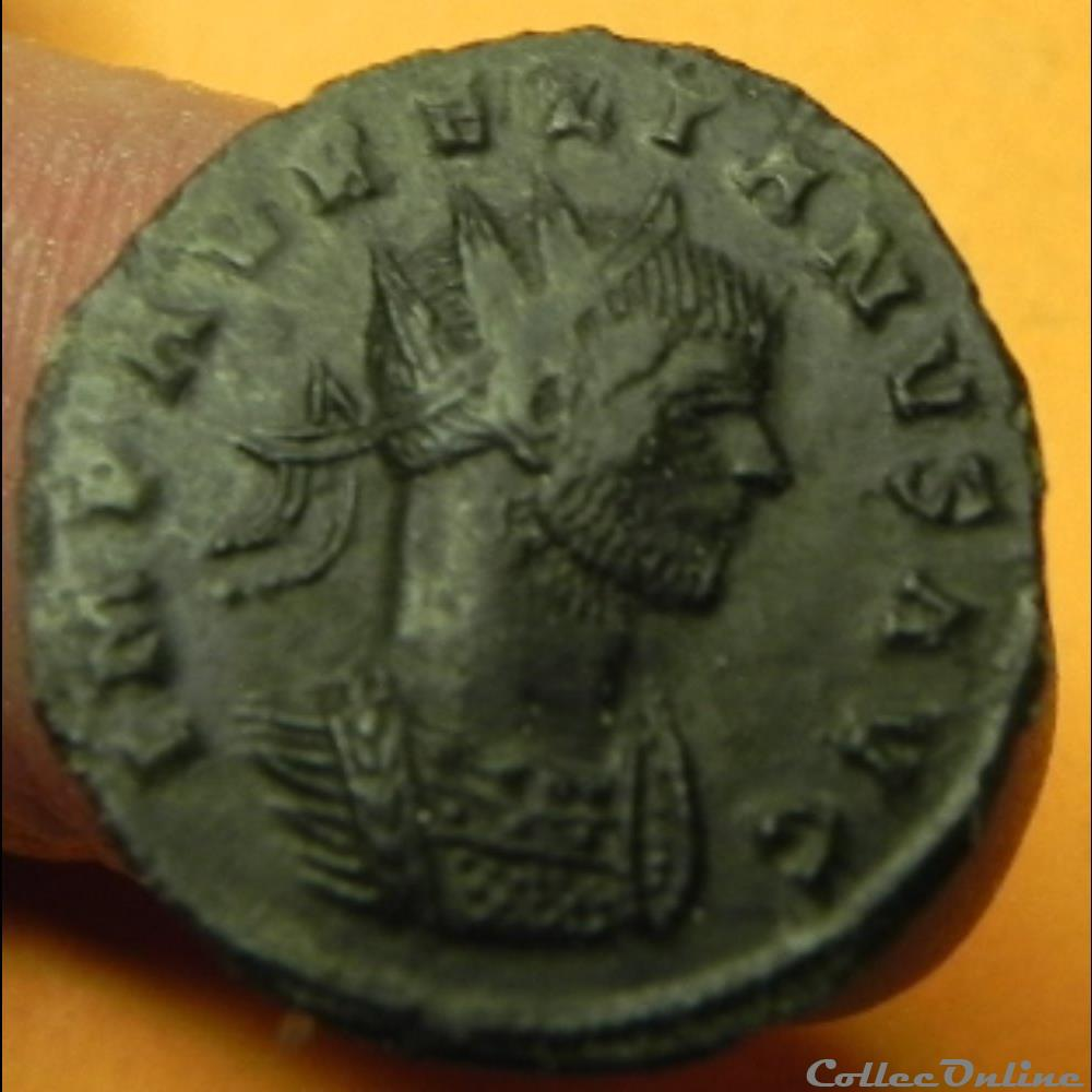 monnaie antique romaine aurelien fortuna redux p siscia mint 1st officina