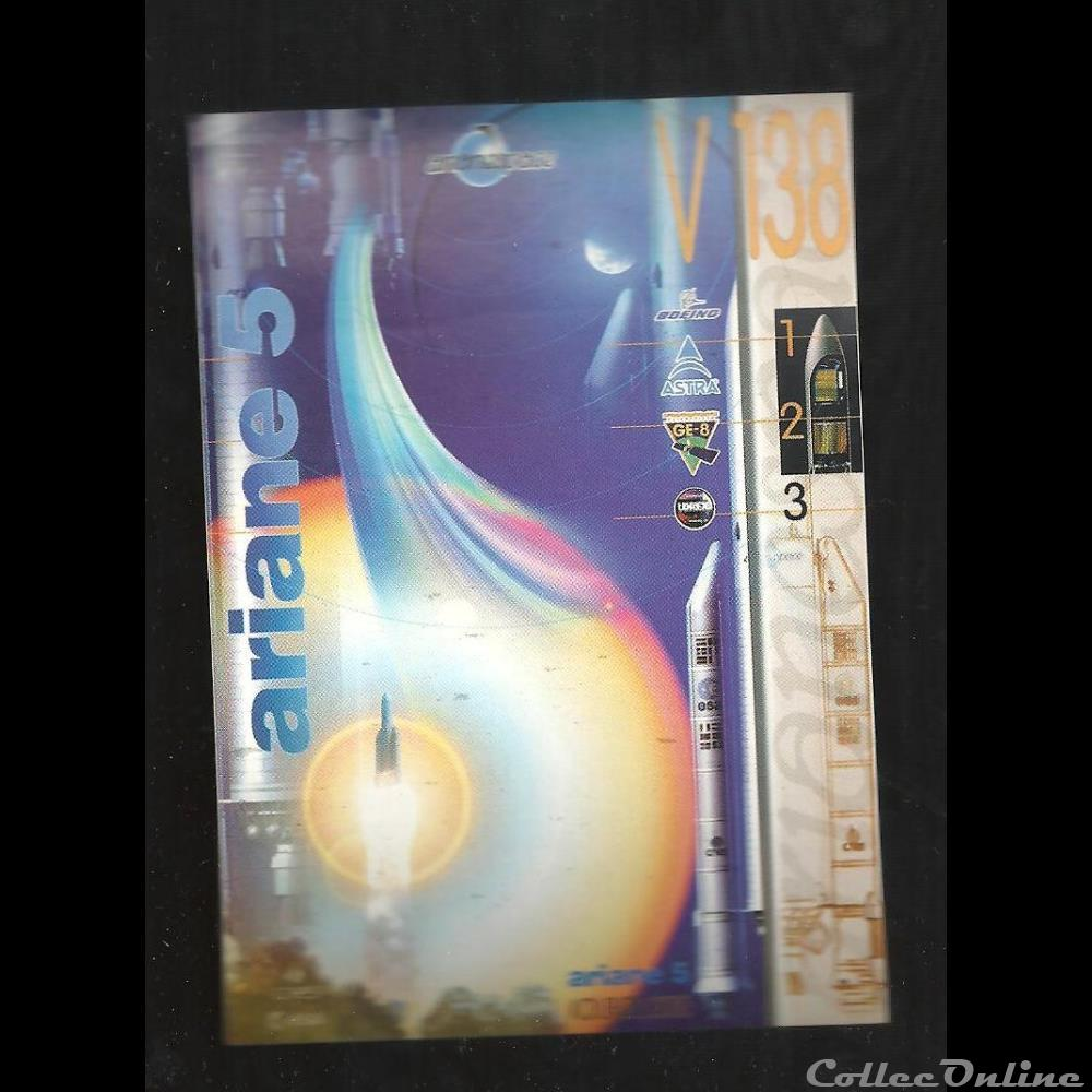decoration magnet europe autocollant arianespace kourou vol n 138