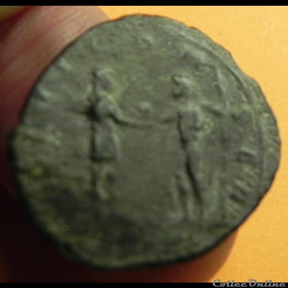monnaie antique romaine aurelien concordiamilitvm