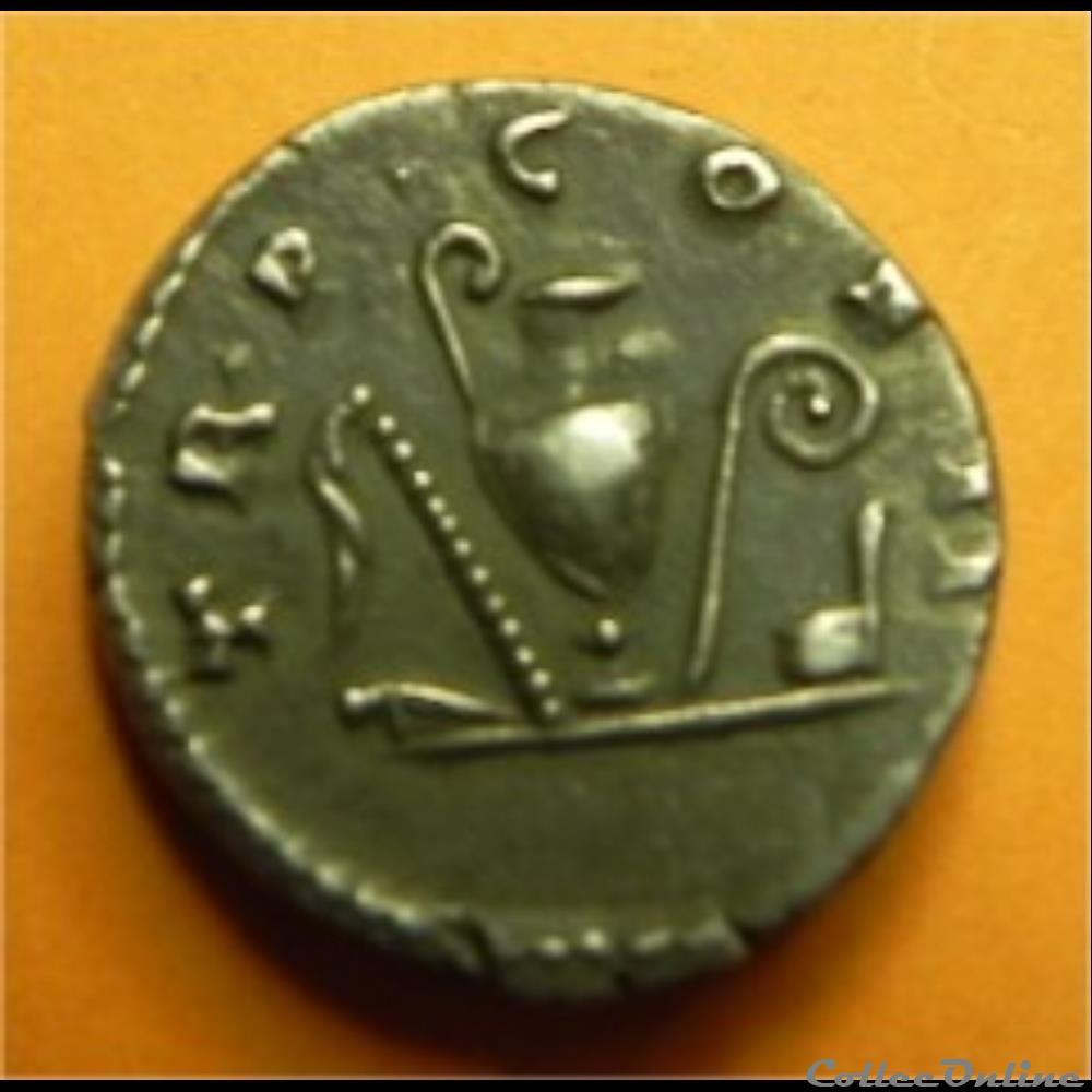 monnaie antique romaine denier antonin le pieux