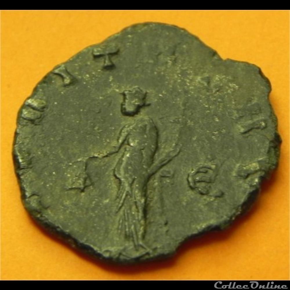 monnaie antique romaine gallien a eqvitas avg