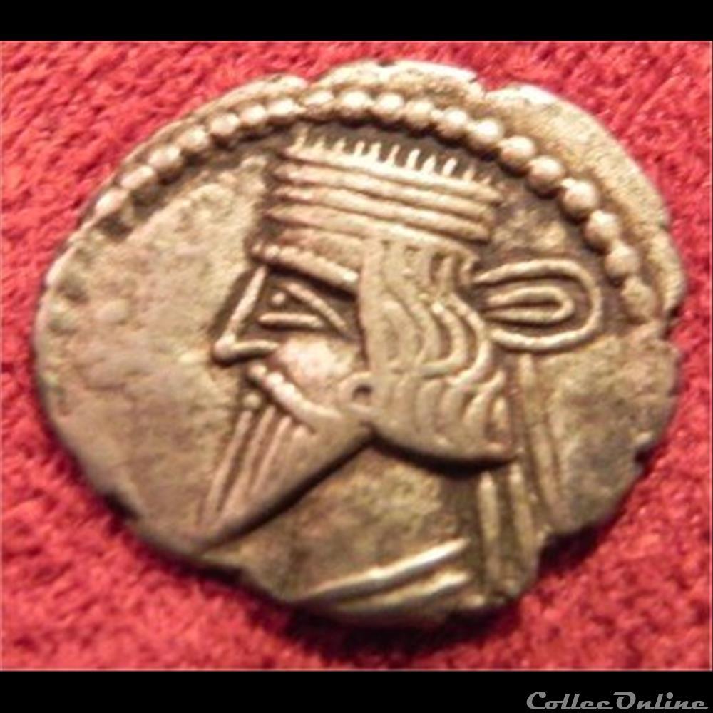 monnaie antique elymaide parthe sassanide vologeses iii s 78 2 3 ecbatane drachme