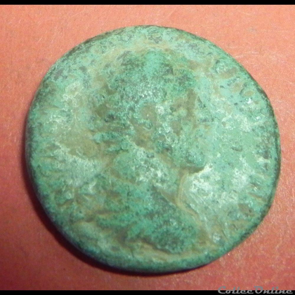 monnaie antique romaine as antonin le pieux
