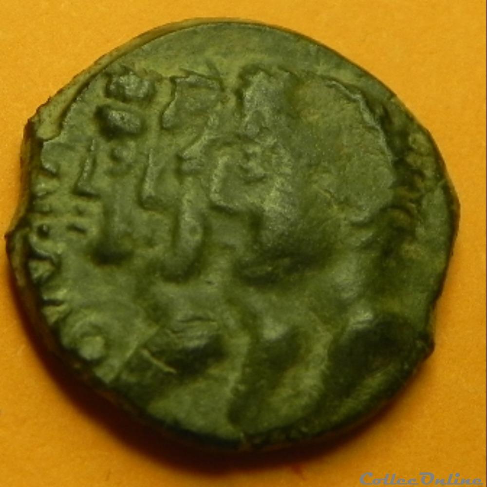 monnaie antique av jc a ap gauloise remes bronze remo remo serie 71 dt 593