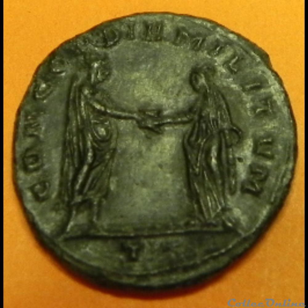 monnaie antique av jc ap romaine aurelien concordiamilitvm