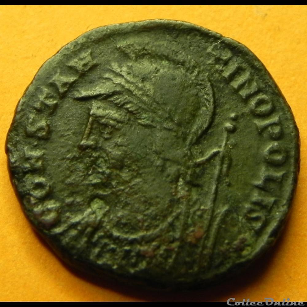 monnaie antique av jc ap romaine constantinopolis smani antioche ric 92