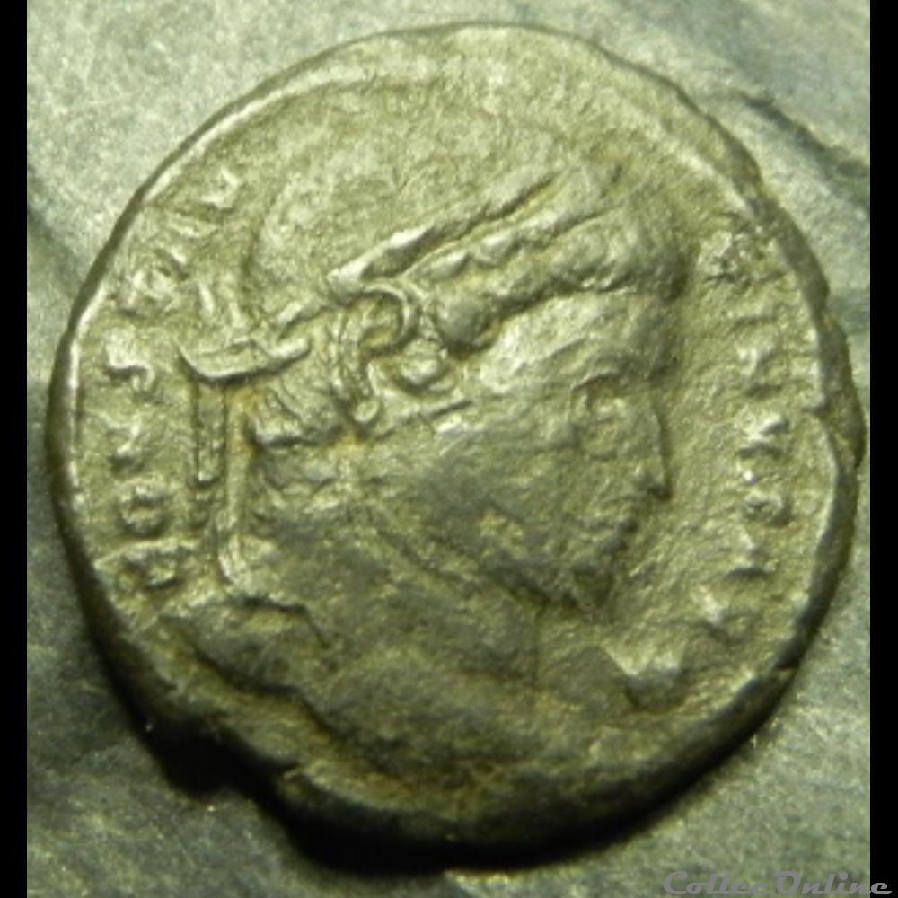 monnaie antique av jc ap romaine constantinus i providen tiae caess