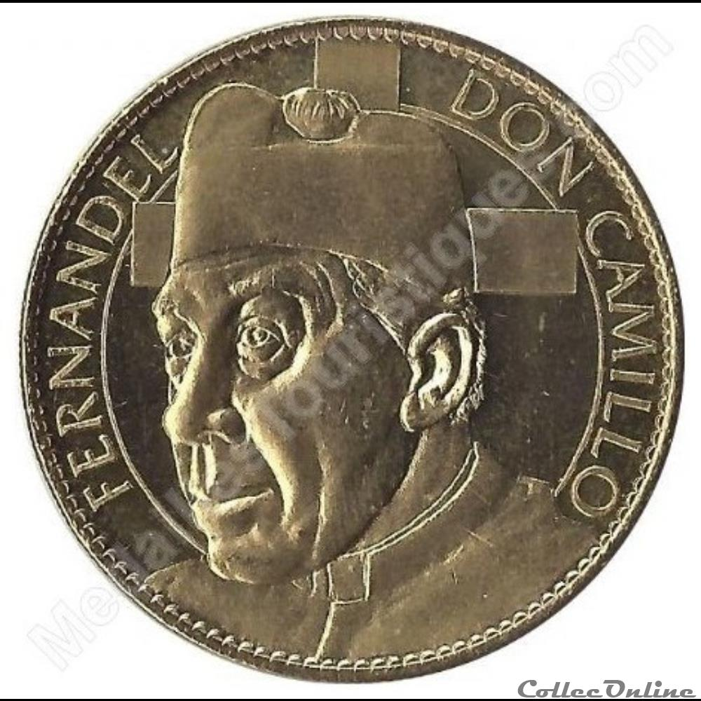 monnaie jeton mereaux france marseille fernandel don camillo 2010