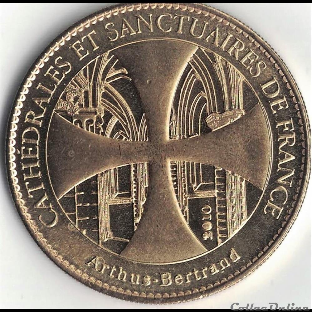 monnaie jeton mereaux france treguier sanctuaire sant erwan minihy 2010