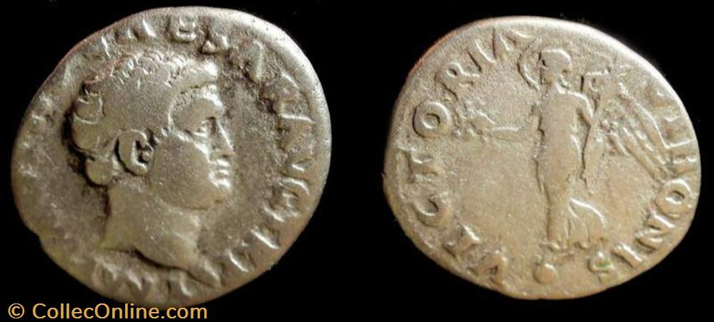 coin ancient b c to roman republicain imperial otho ar denarius