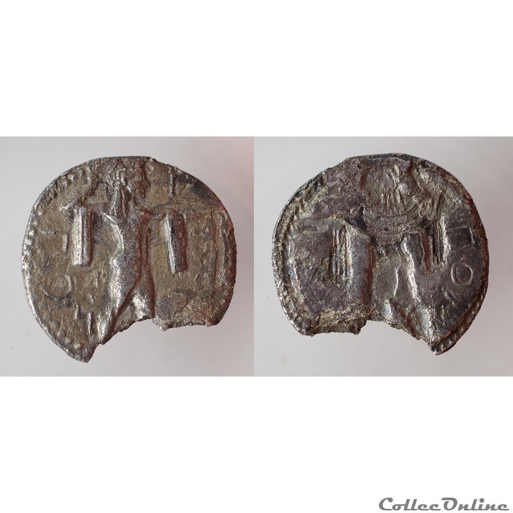 monnaie antique grecque poseidonia drachme 1 3 de statere