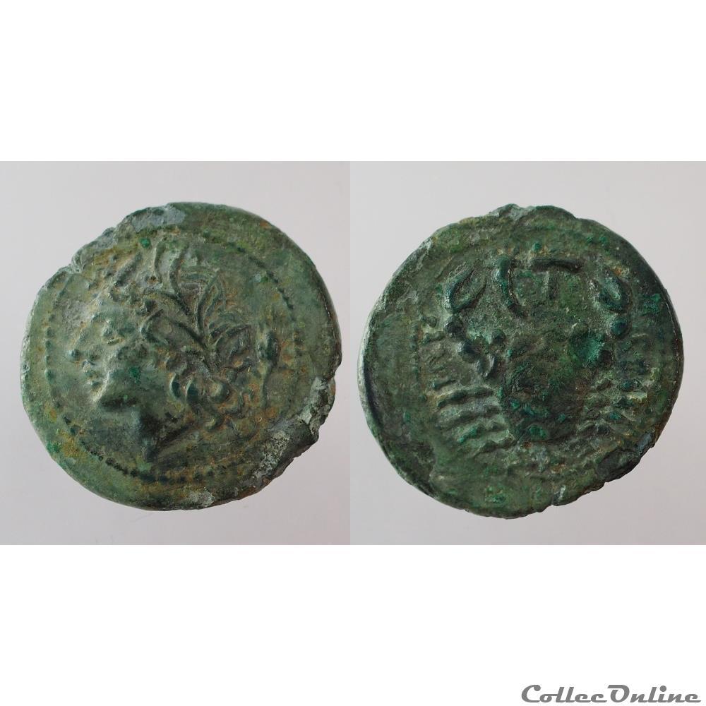 monnaie antique grecque bretti