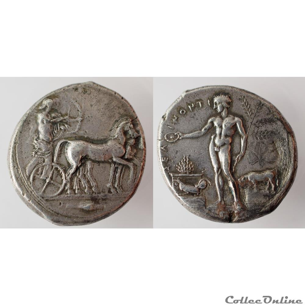 monnaie antique grecque selinonte tetradrachme