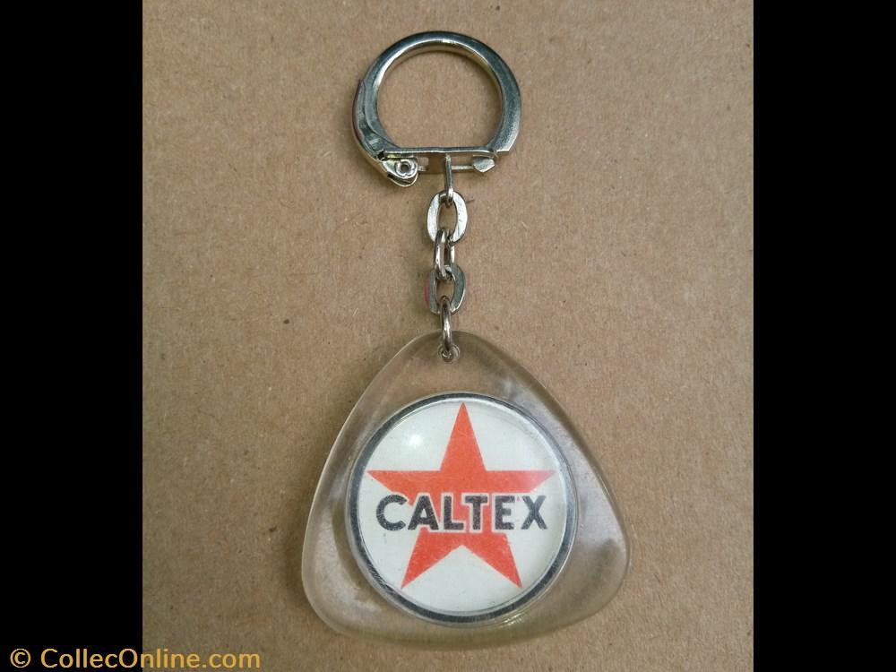 autre porte cle petrolier caltex