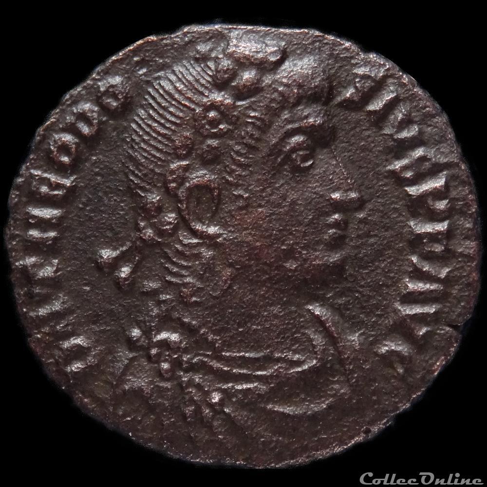 monnaie antique romaine ae3 theodose ier antioche ric 44