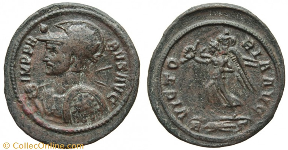 coin ancient to roman imp pr bvs avg sic