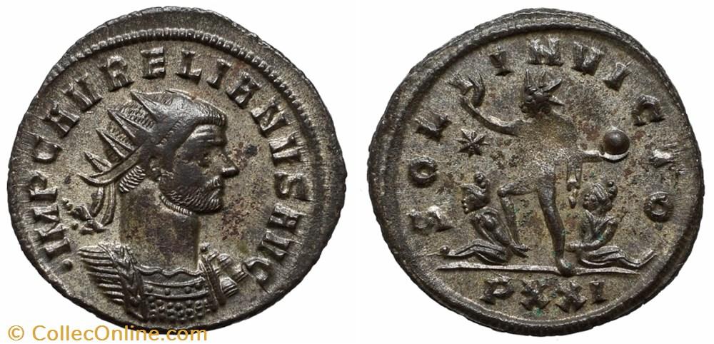 coin ancient b to roman republicain imperial aurelian ric temp 1522
