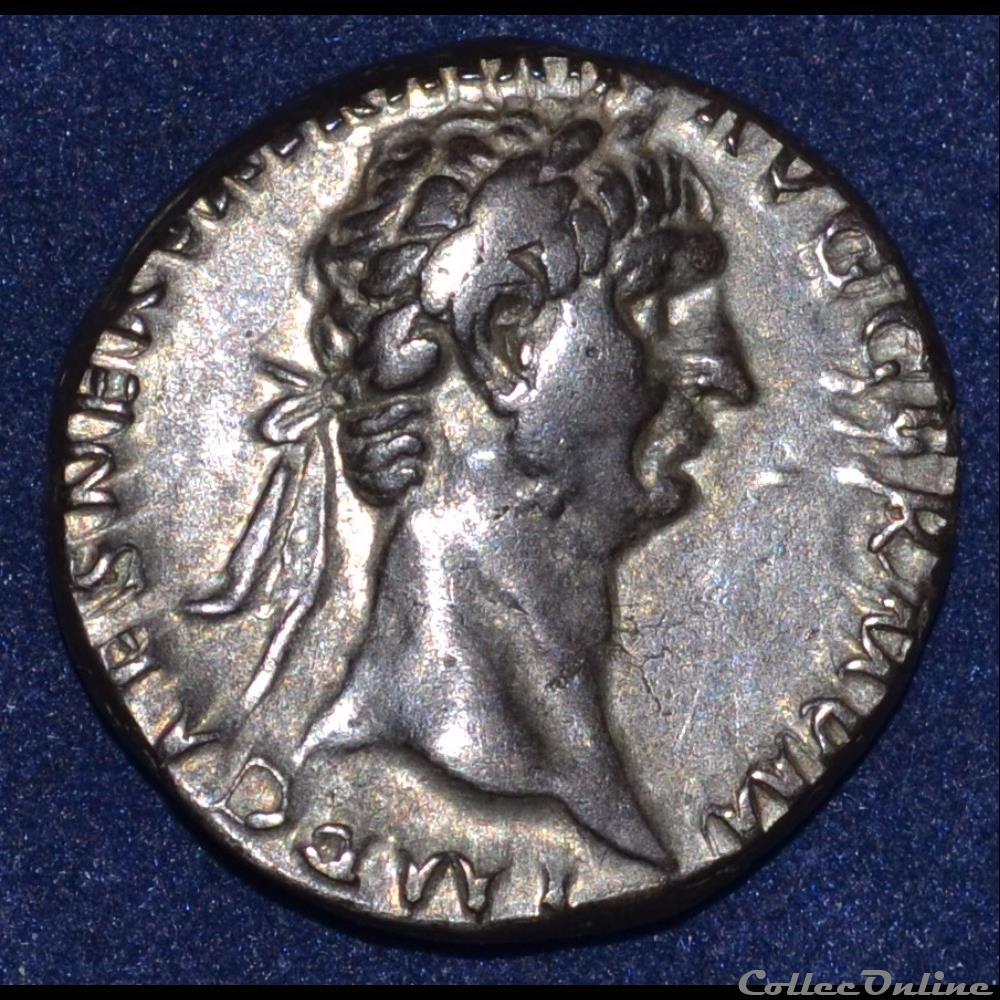 monnaie antique romaine trajan cistophore