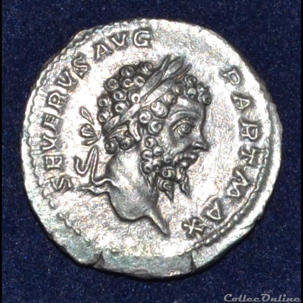 monnaie antique romaine septime severe denier