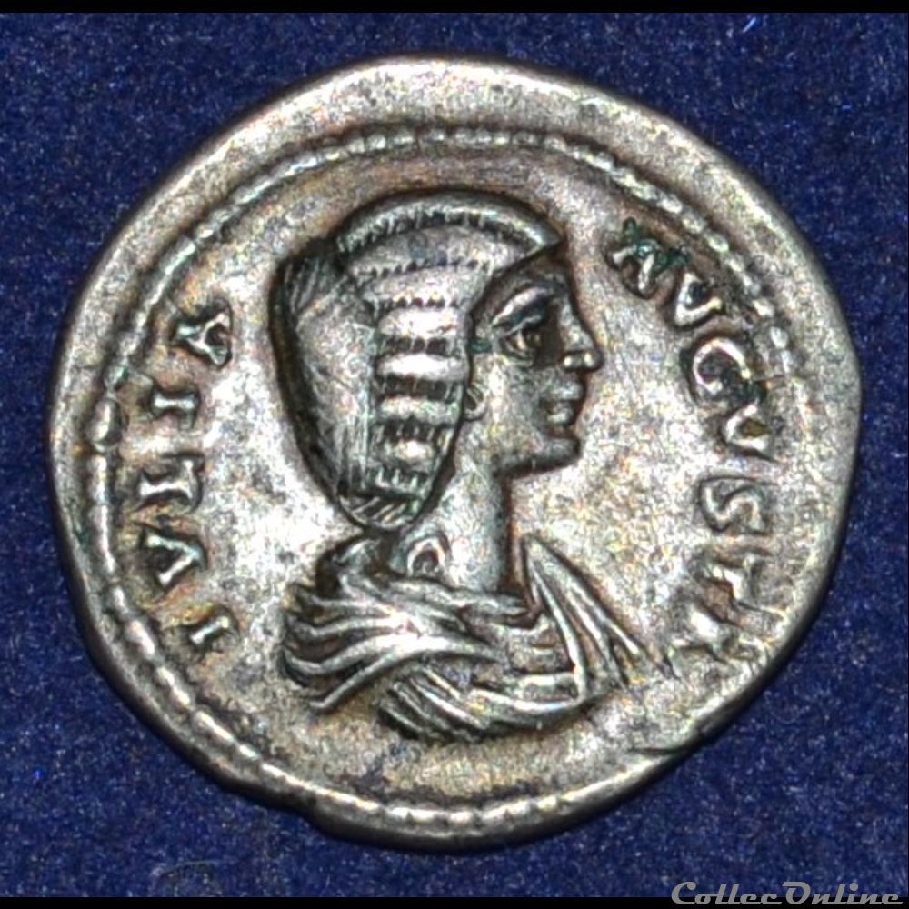 monnaie antique romaine julia domna