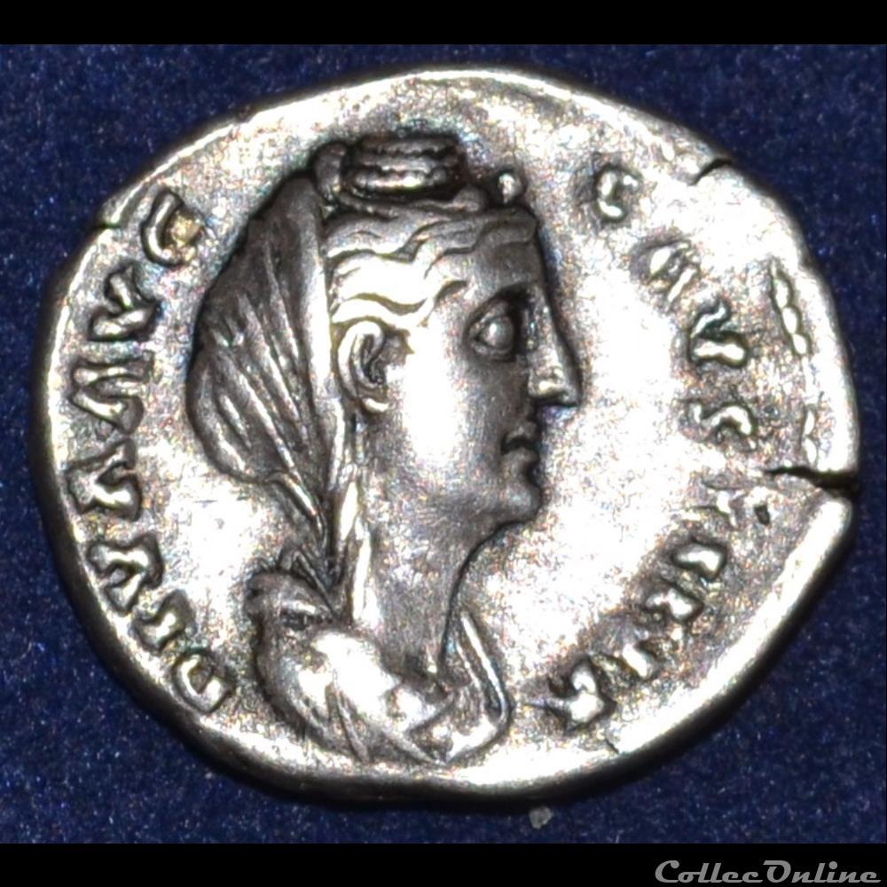 monnaie antique romaine faustine mere