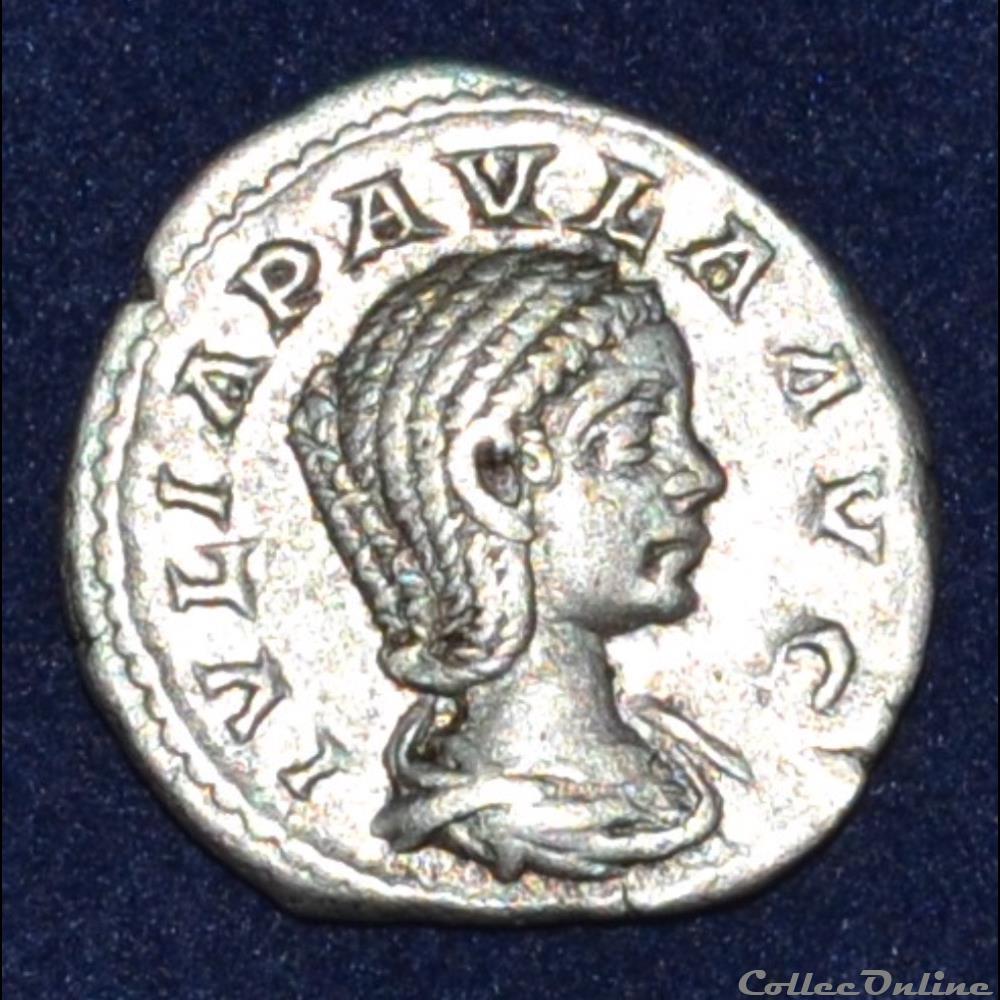 monnaie antique romaine julia paula