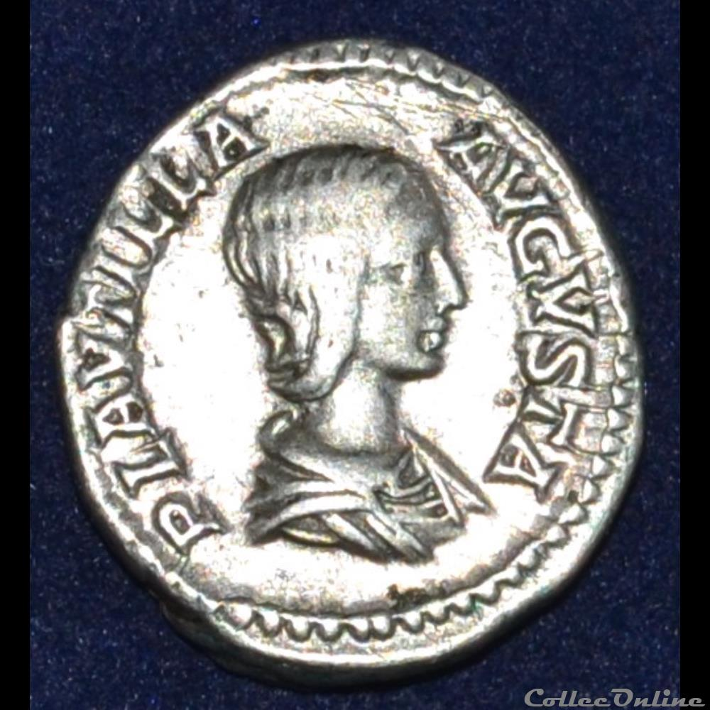 monnaie antique romaine plautille