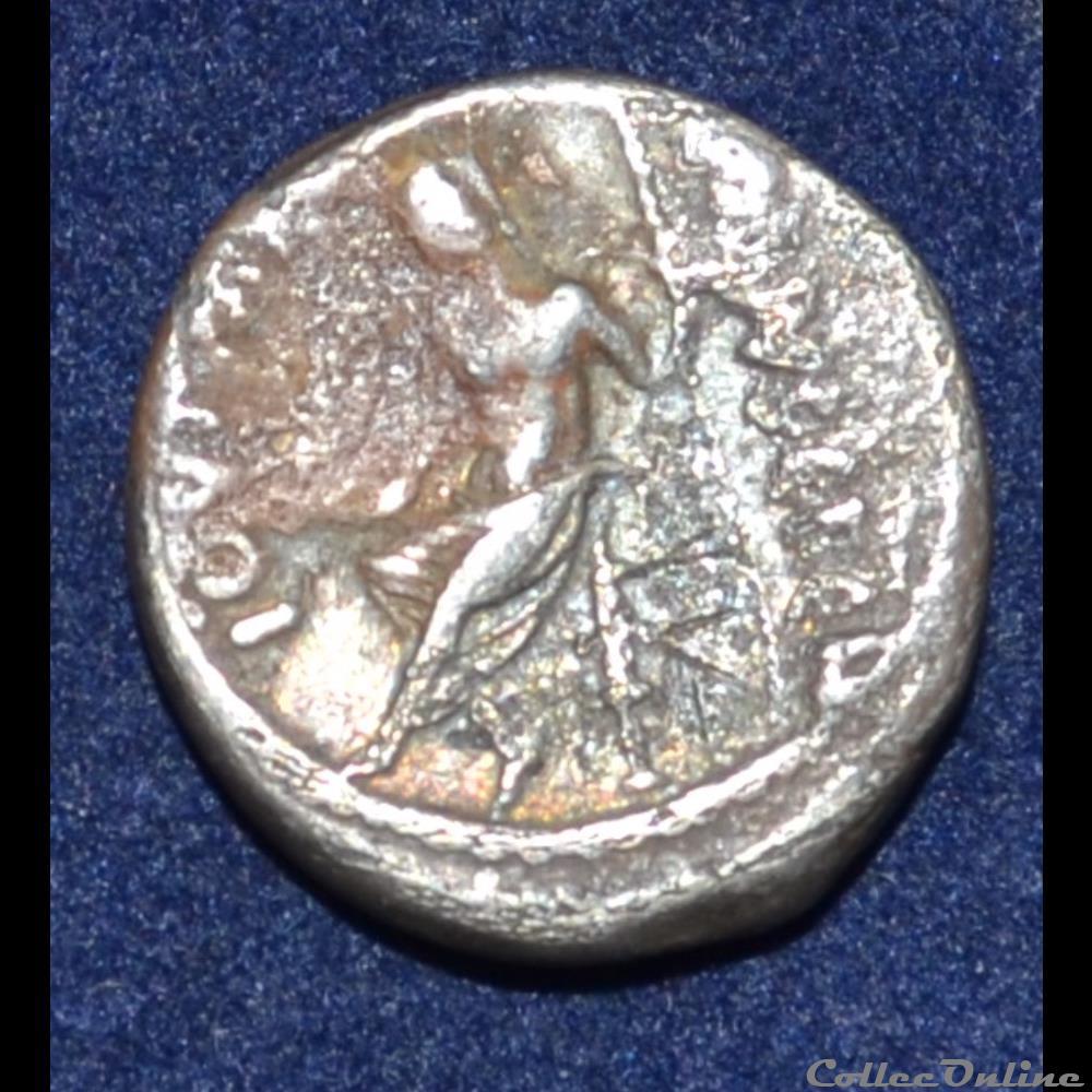 monnaie antique romaine vibia