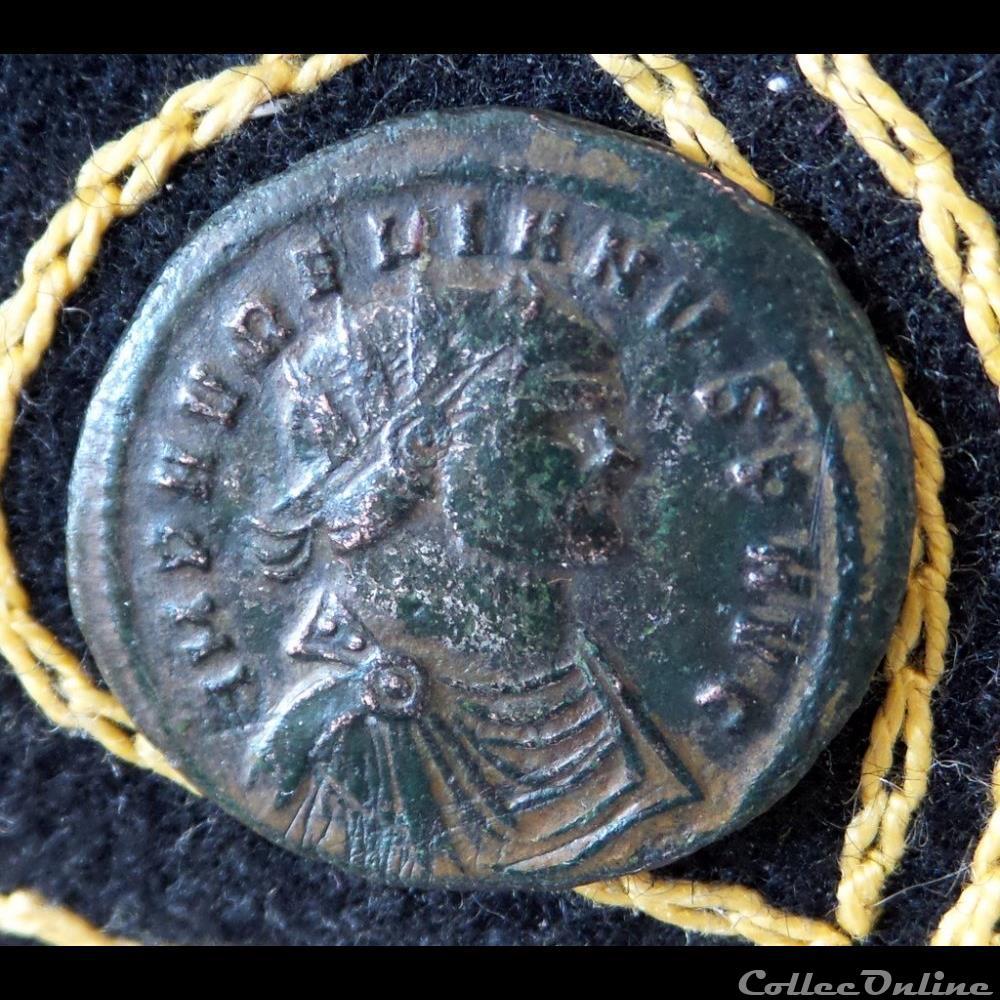 monnaie antique romaine aurelien iovi conser p