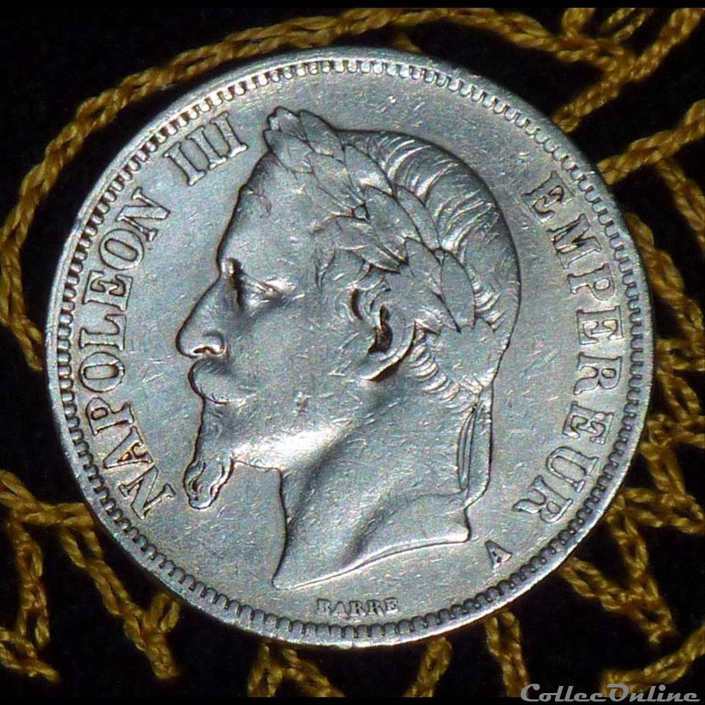 monnaie france moderne napoleon iii