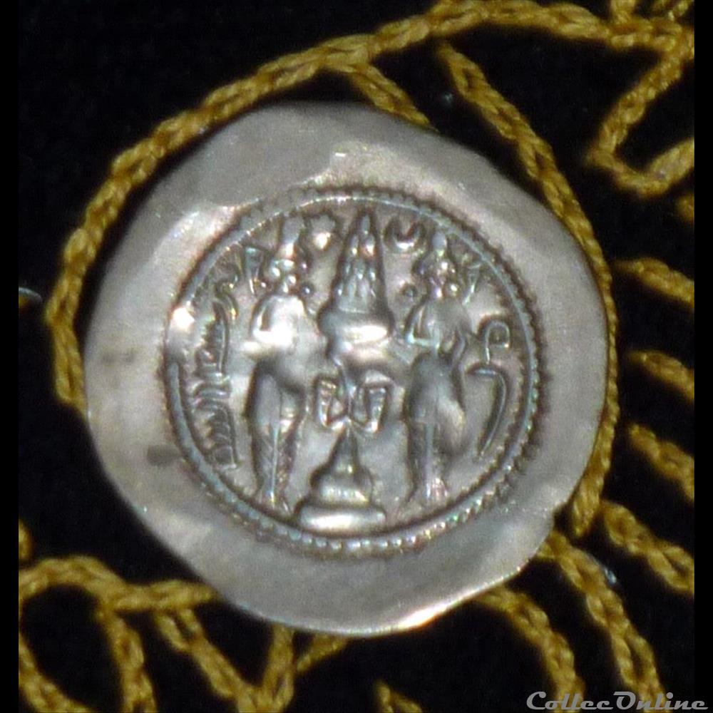 monnaie antique elymaide parthe sassanide khusru i ar drachm de 4 02g et 31 mm de diametre