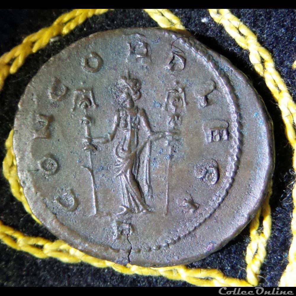 monnaie antique romaine aurelien concord legi