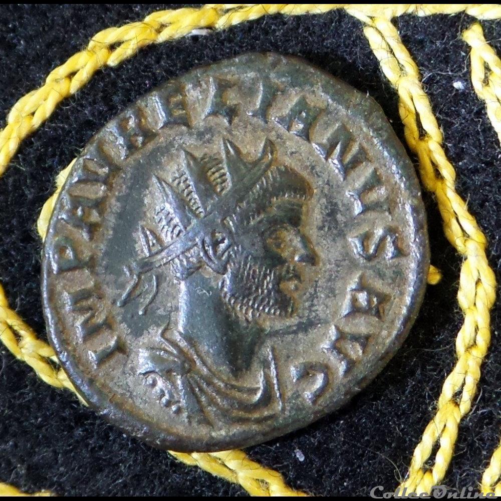 monnaie antique romaine aurelien restitvt ori entis
