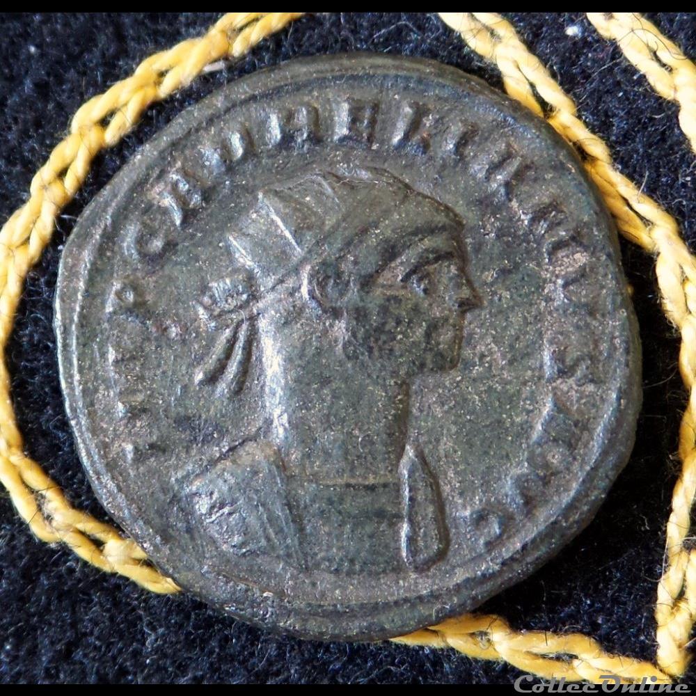 monnaie antique romaine aurelien concordia militvm