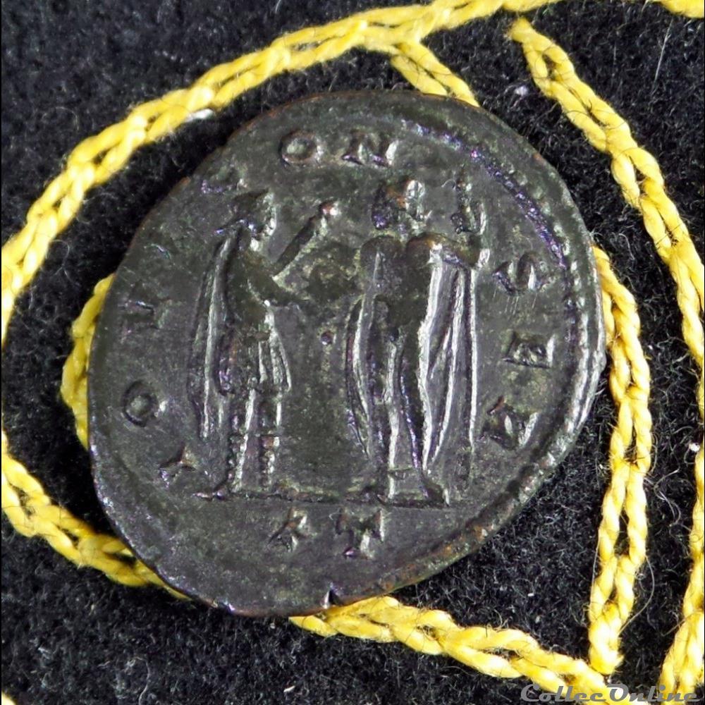 monnaie antique romaine aurelien iovi conser