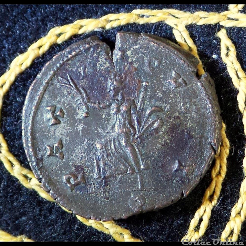 monnaie antique romaine aurelien pax avgvsti
